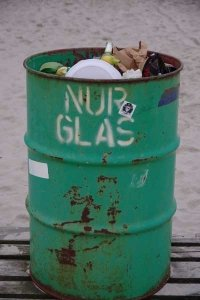 ❤ St. Peter Ording | Glascontainer