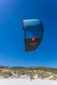 "❤ HB-Surfkite | HB ""Legion"" Kite Frontview"