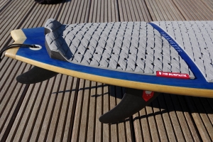 ❤ windchasers.de | HB-Surfkite Strapless Surfboard Tailpad
